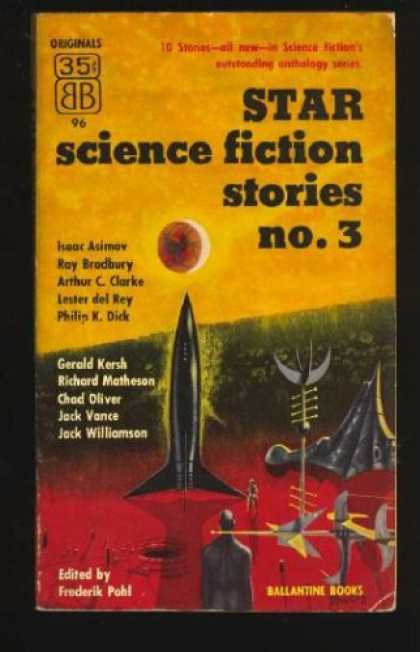 Isaac Asimov Books - Star Science Fiction Stories, No. 3