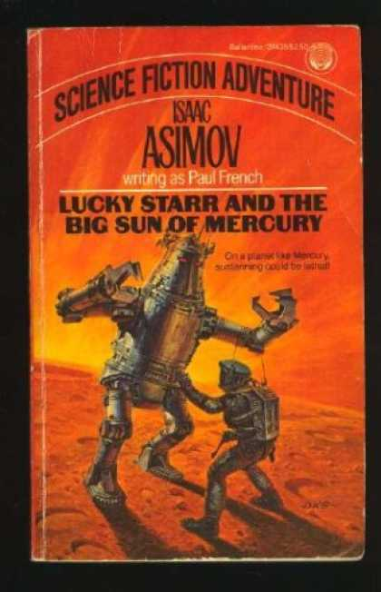Isaac Asimov Books - Lucky Starr and the Big Sun of Mercury