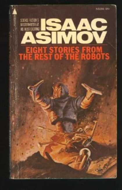 Isaac Asimov Books - Eight Stories From Rest of the Robots