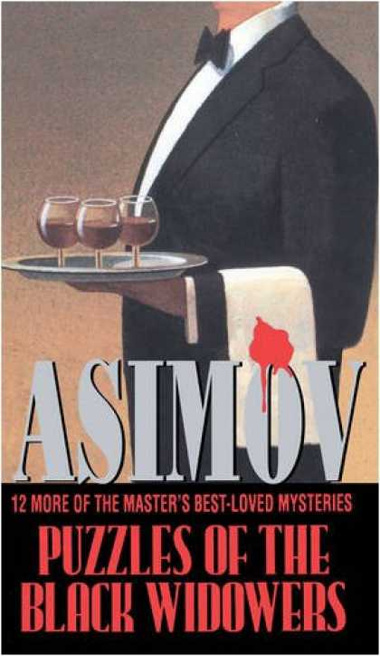 Isaac Asimov Books - Puzzles of the Black Widowers