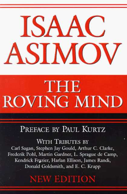 Isaac Asimov Books - The Roving Mind