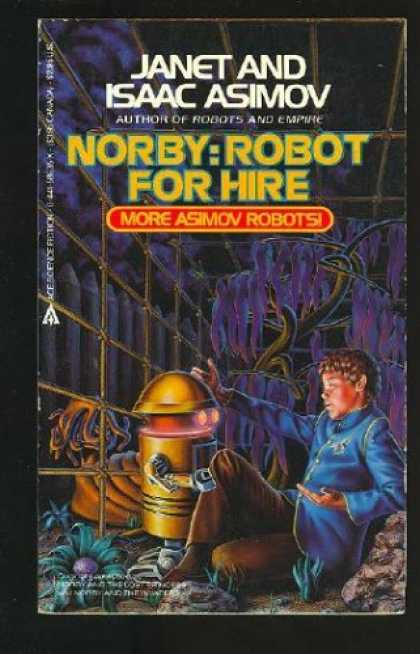 Isaac Asimov Books - Norby: Robot For Hire
