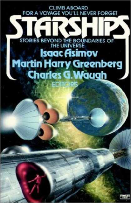 Isaac Asimov Books - Starships: Stories Beyond the Boundaries of the Universe