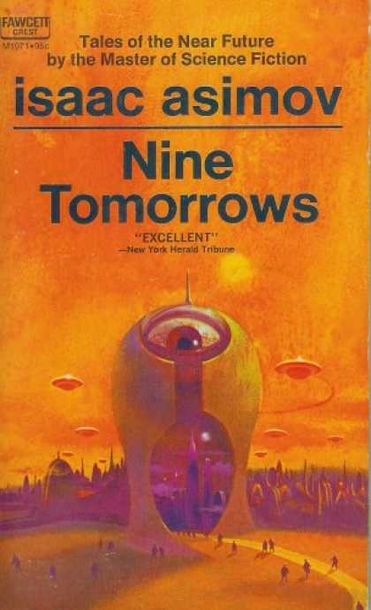 Isaac Asimov Books - Nine Tomorrows
