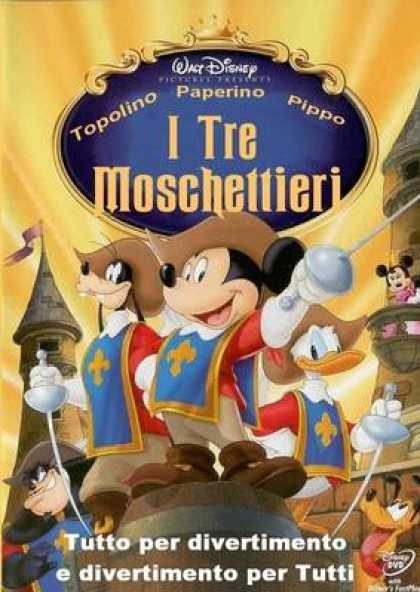 Italian DVDs - The Three Musketeers