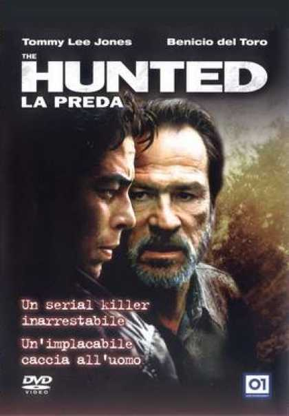 Italian DVDs - The Hunted