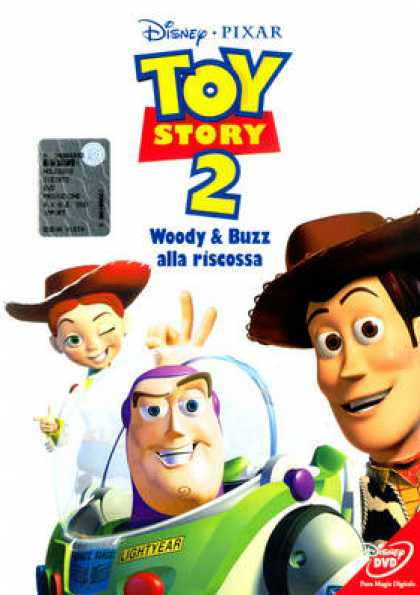 Italian DVDs - Toy Story 2