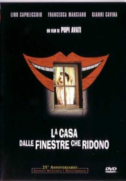 Italian DVDs - House With Laughing Windows