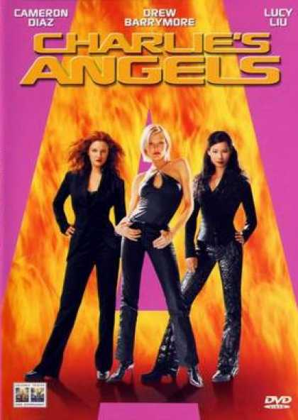 Italian DVDs - Charlies Angels