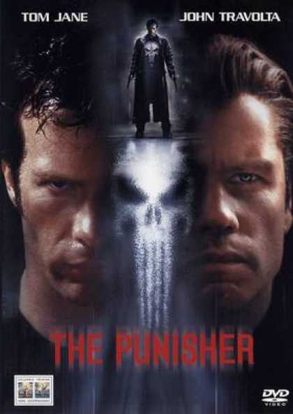 Italian DVDs - The Punisher