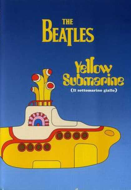 Italian DVDs - The Beatles Yellow Submarine