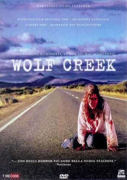 Italian DVDs - Wolf Creek