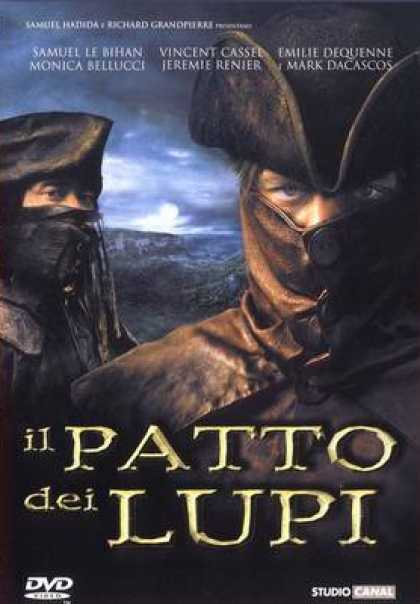 Italian DVDs - Brotherhood Of The Wolf