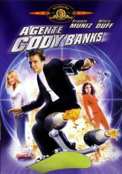 Italian DVDs - Agent Cody Banks