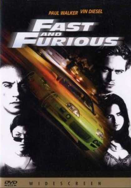 Italian DVDs - The Fast And Furious Italian Dvd