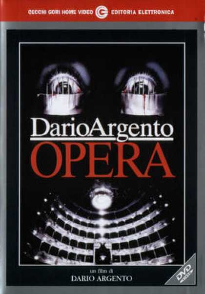 Italian DVDs - Terror At The Opera
