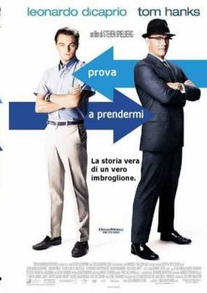 Italian DVDs - Catch Me If You Can Italian Better Quality