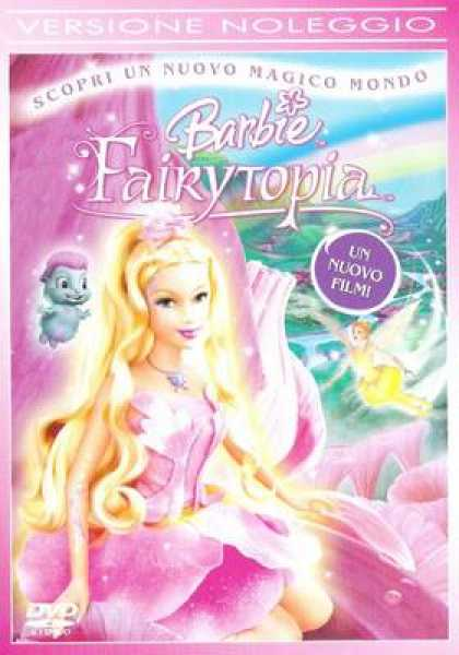 Italian DVDs - Barbie Fairytopia