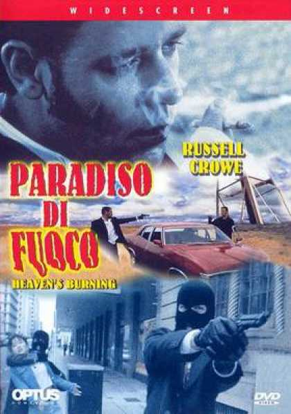 Italian DVDs - Heavens Burning