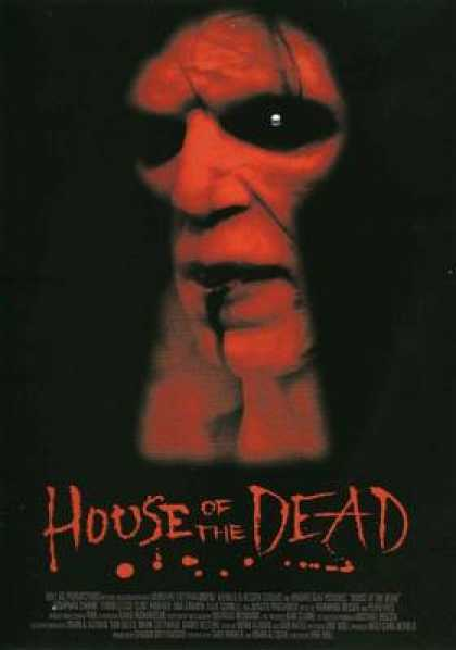 Italian DVDs - House Of The Dead