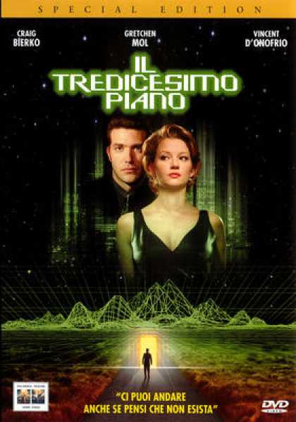 Italian DVDs - The Thirteenth Floor