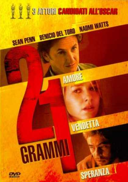 Italian DVDs - 21 Grams