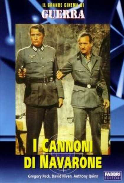 Italian DVDs - The Guns Of Navarone
