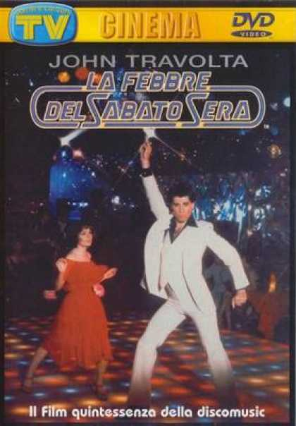 Italian DVDs - Saturday Night Fever