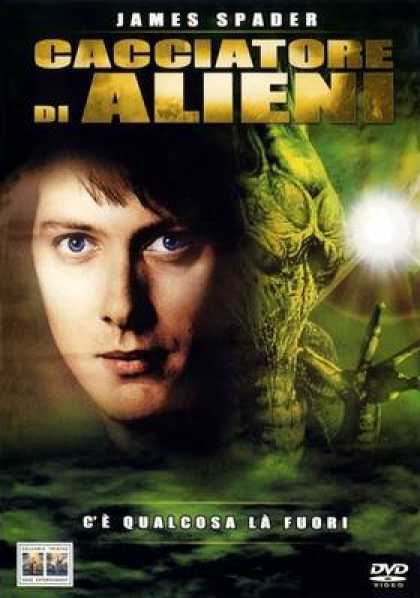 Italian DVDs - Alien Hunter