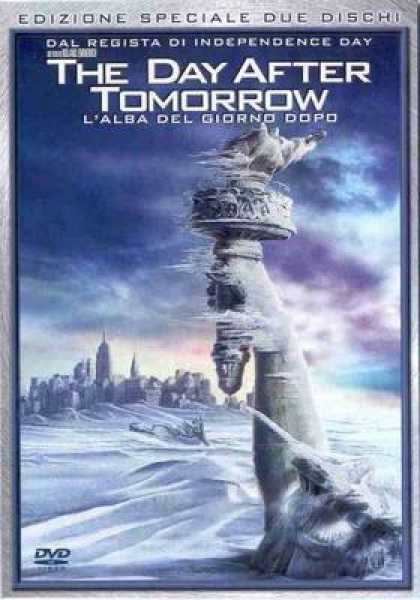 Italian DVDs - The Day After Tomorrow