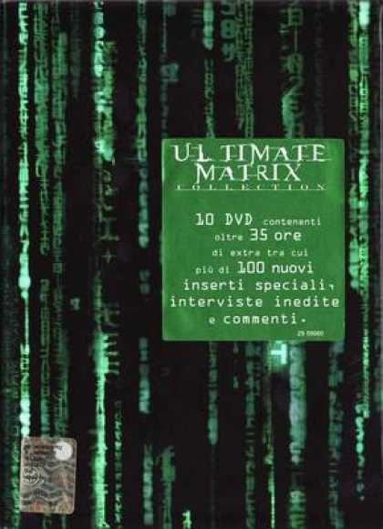 Italian DVDs - Ultimate Matrix Collection