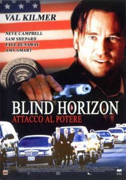 Italian DVDs - Blind Horizon