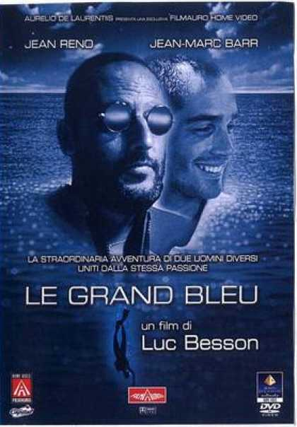 Italian DVDs - The Big Blue