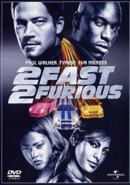 Italian DVDs - 2 Fast 2 Furious