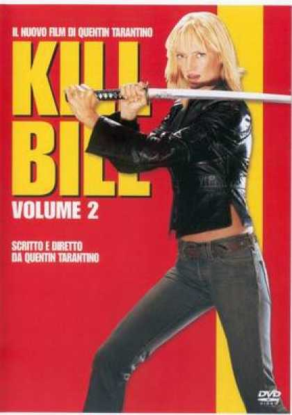 Italian DVDs - Kill Bill 2