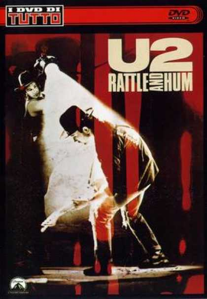 Italian DVDs - U2 Rattle And Hum