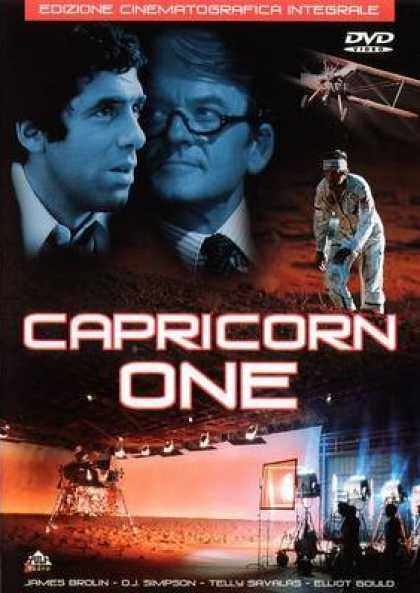 Italian DVDs - Capricorn One