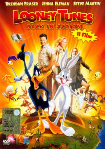 Italian DVDs - Looney Tunes Back In Action
