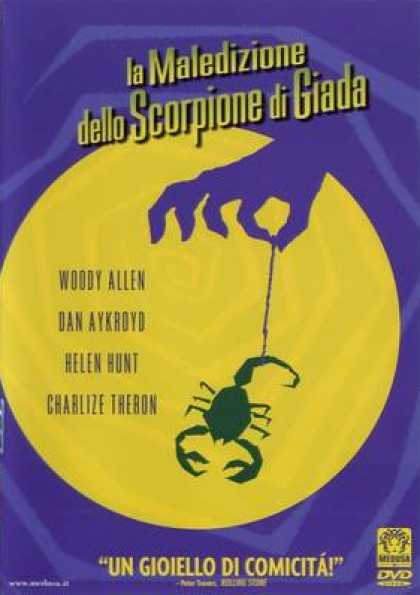 Italian DVDs - The Curse Of The Jade Scorpion