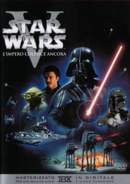 Italian DVDs - Star Wars Episode 5 The Empire Strikes