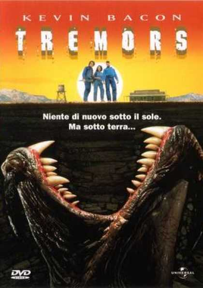 Italian DVDs - Tremors