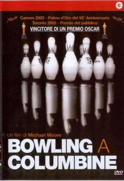 Italian DVDs - Bowling For Columbine