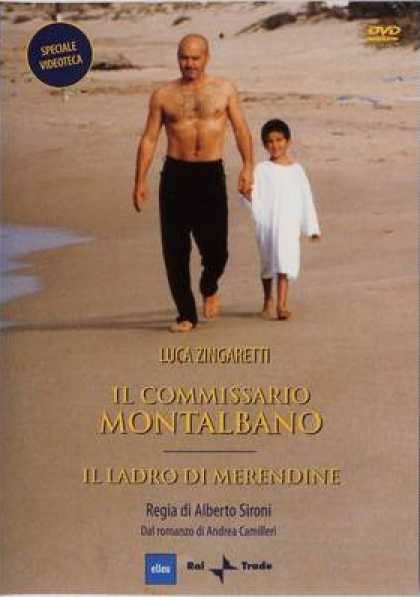 Italian DVDs - Inspector Montalbano The Snack Thief