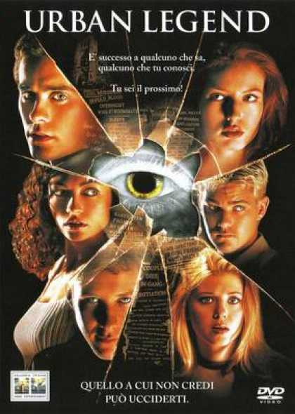 Italian DVDs - Urban Legend
