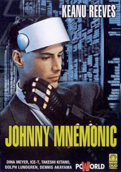 Italian DVDs - Johnny Mnemonic
