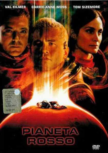 Italian DVDs - Red Planet