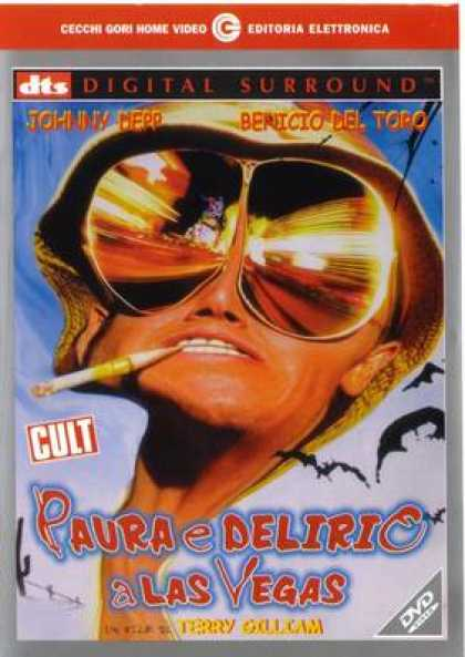 Italian DVDs - Fear And Loathing In Las Vegas