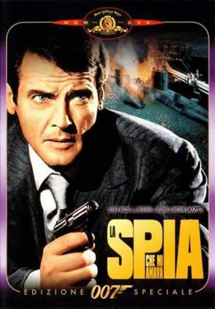 Italian DVDs - The Spy Who Loved Me