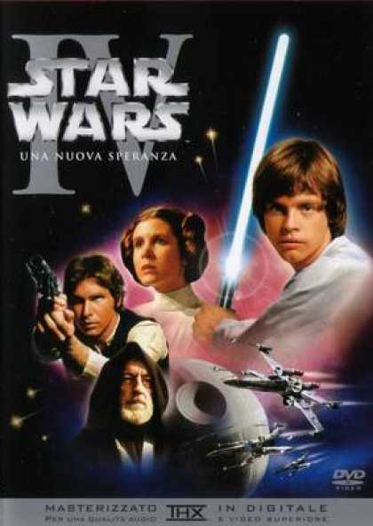 Italian DVDs - Star Wars Episode 4 A New Hope