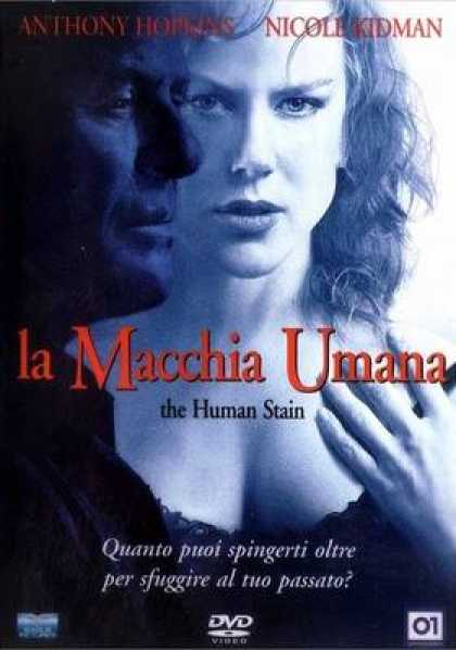 Italian DVDs - The Human Stain